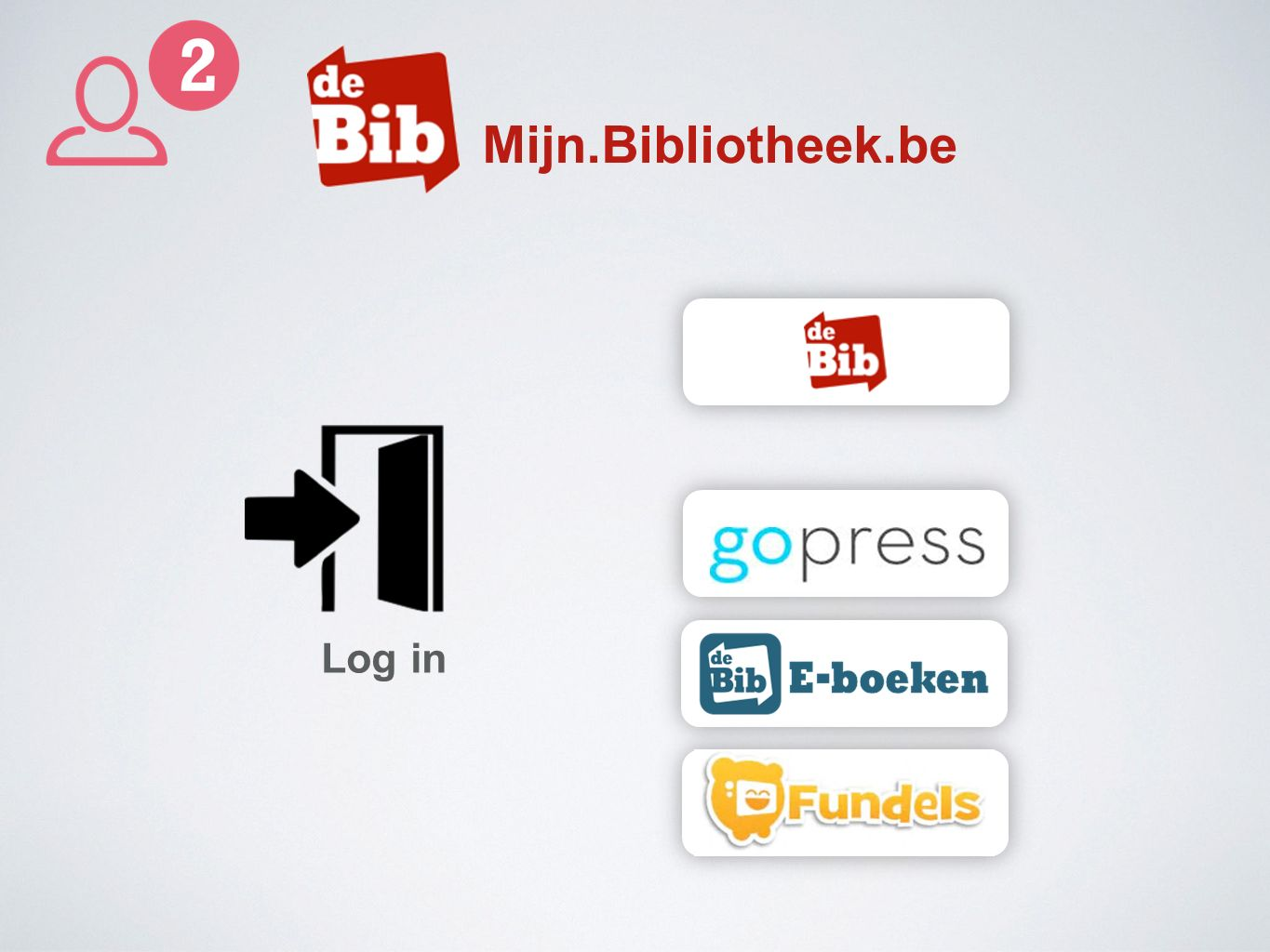 Mijn.Bibliotheek.be Log in