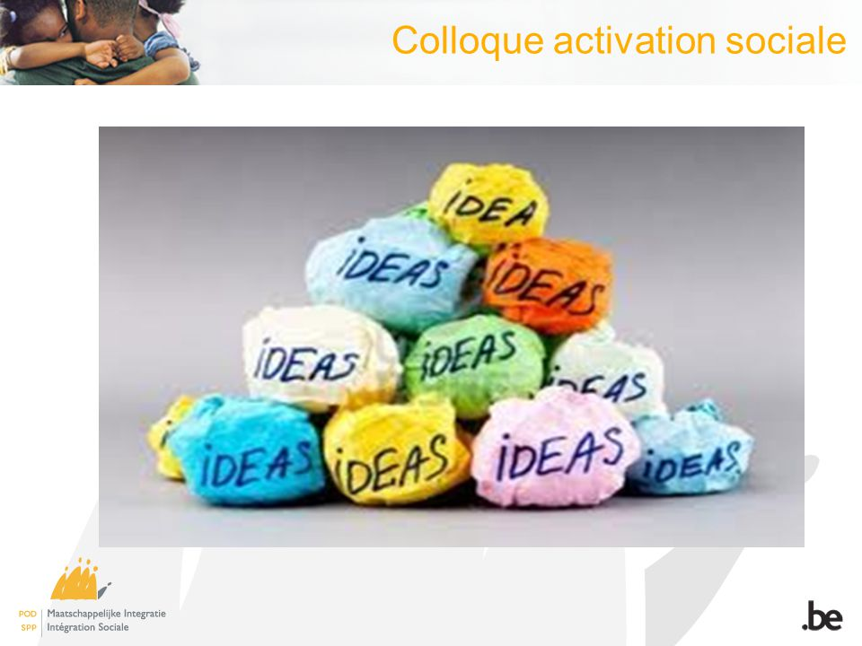 Colloque activation sociale