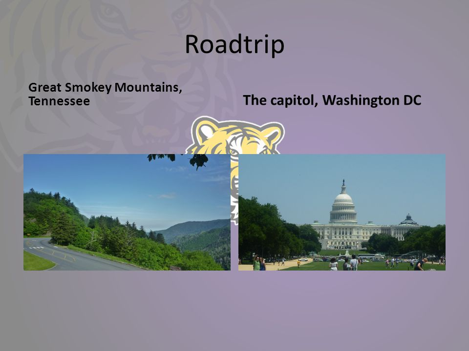 Roadtrip Great Smokey Mountains, Tennessee The capitol, Washington DC