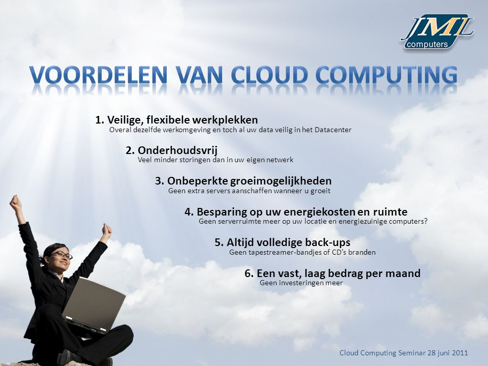 Cloud Computing Seminar 28 juni
