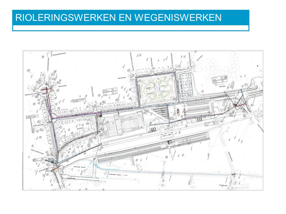 RIOLERINGSWERKEN EN WEGENISWERKEN