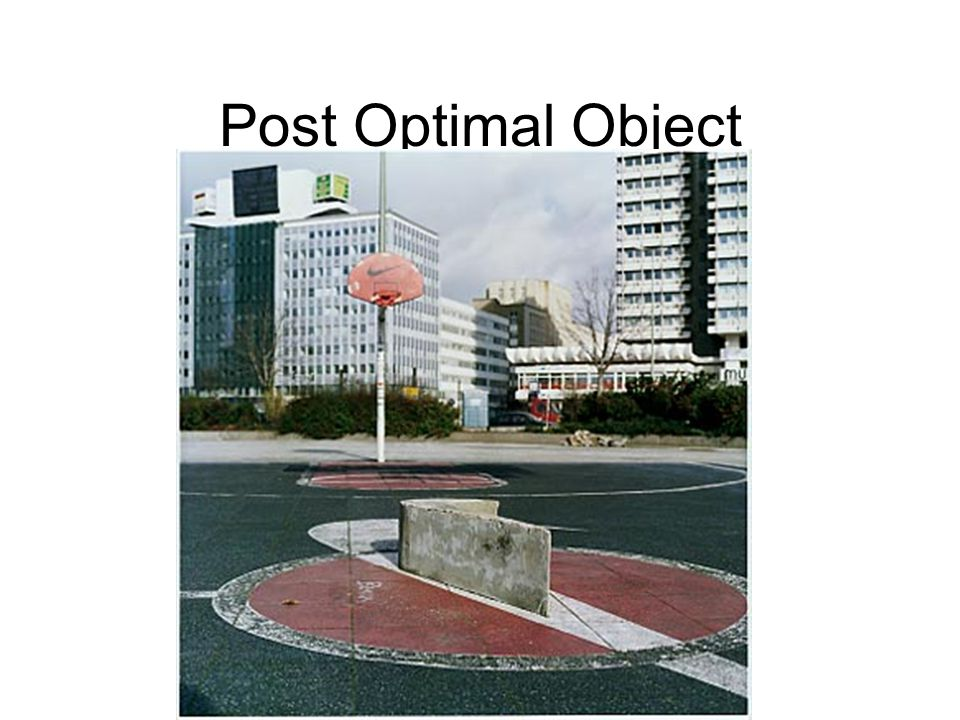 Post Optimal Object