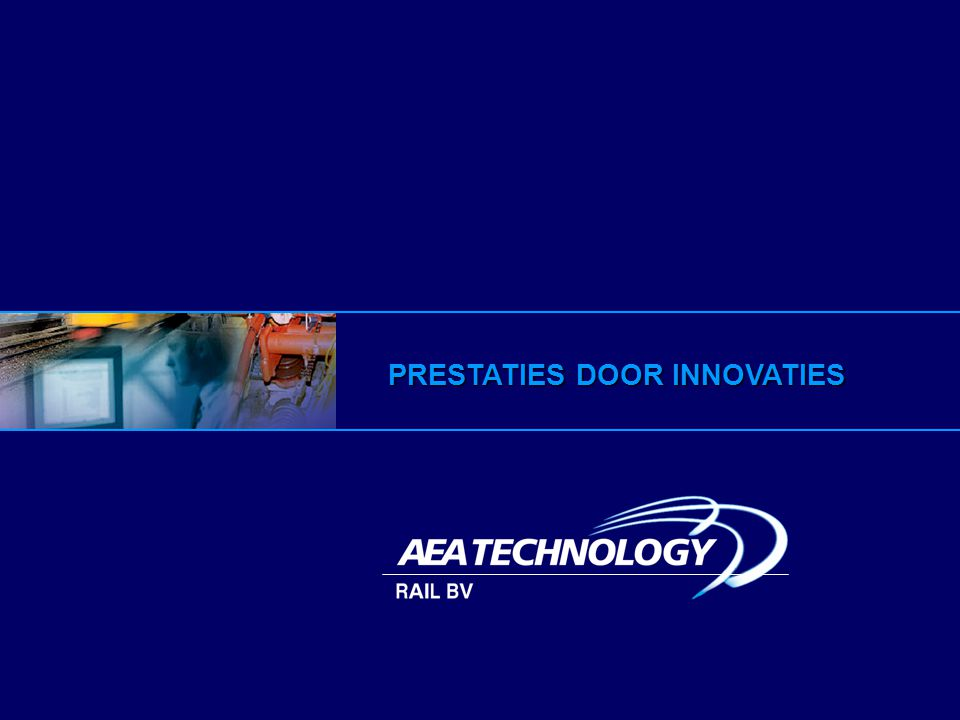 PRESTATIES DOOR INNOVATIES