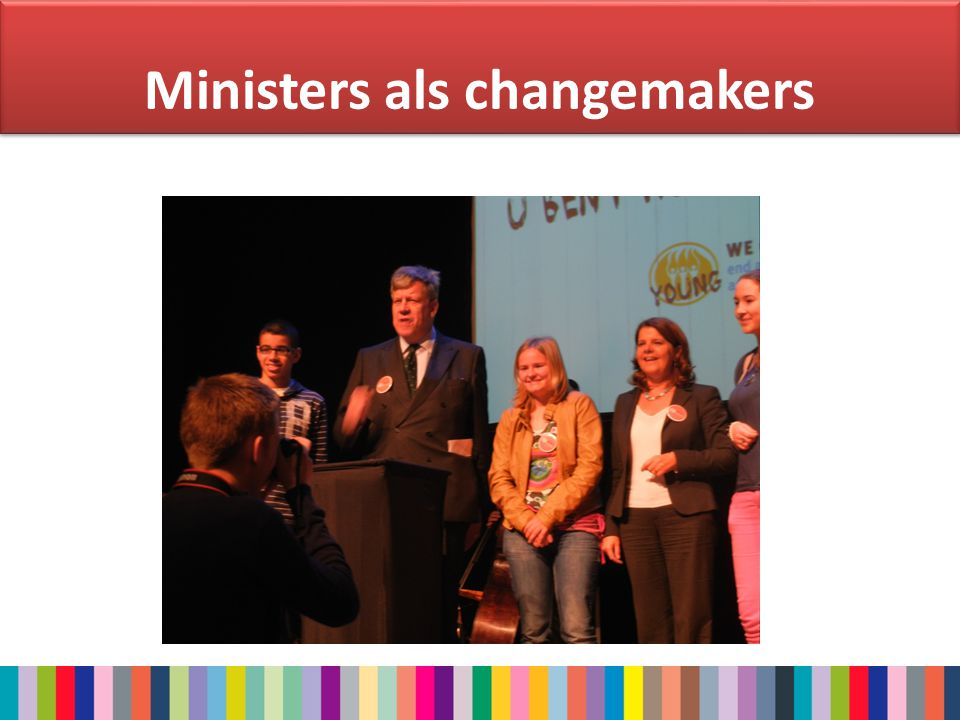 Ministers als changemakers