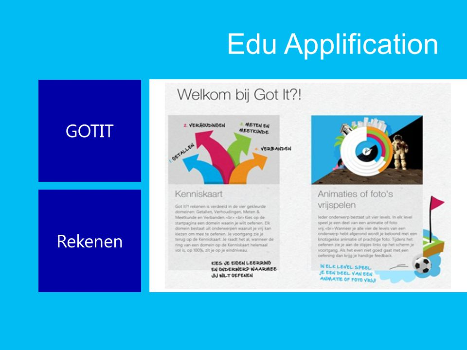 Edu Applification GOTIT Rekenen