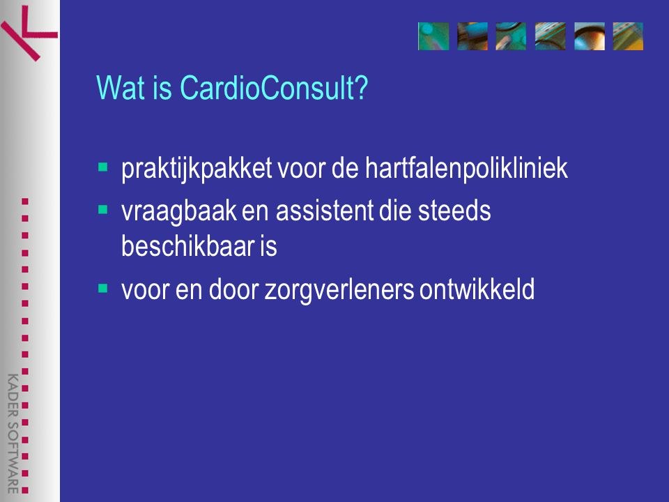 Wat is CardioConsult.