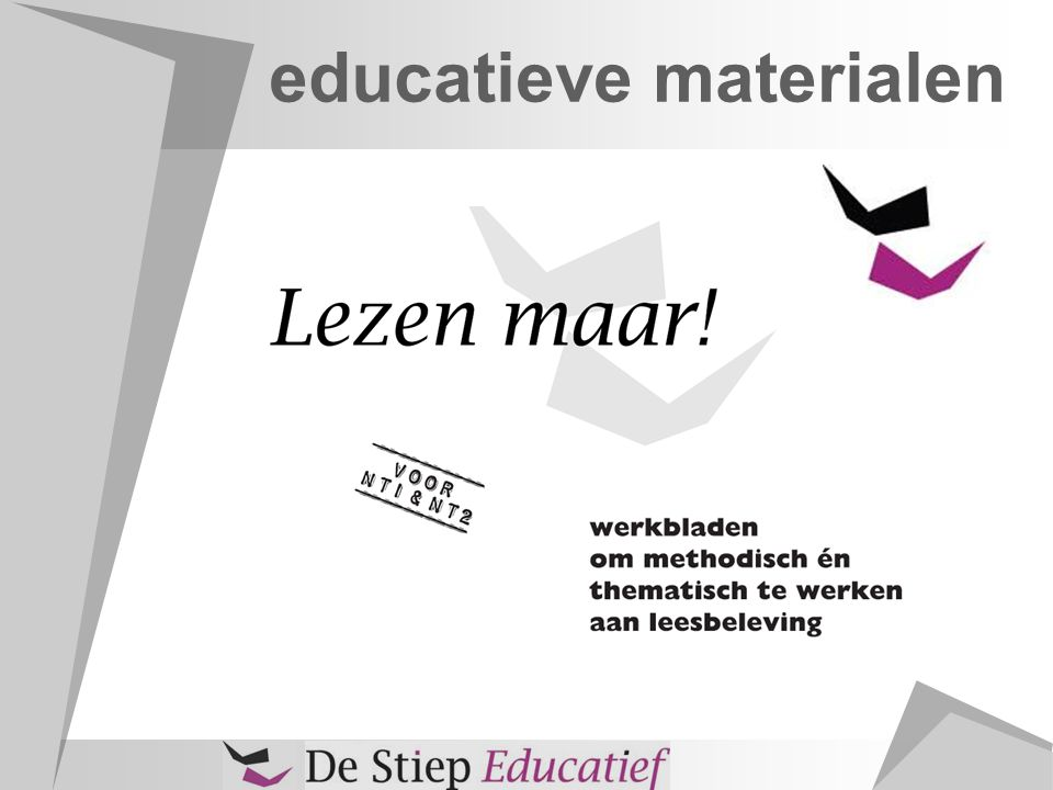 educatieve materialen