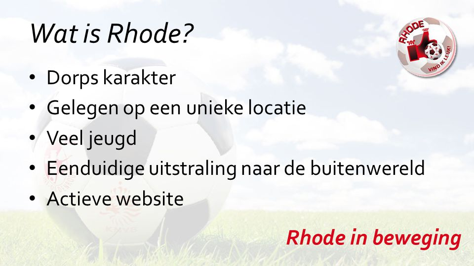 Wat is Rhode.