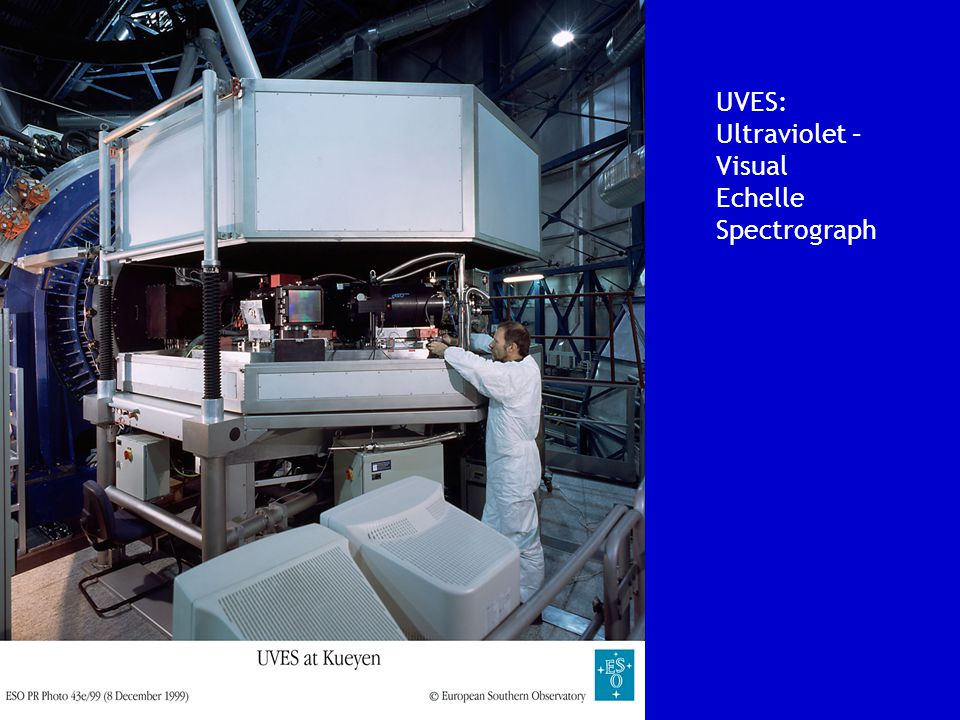 UVES: Ultraviolet – Visual Echelle Spectrograph