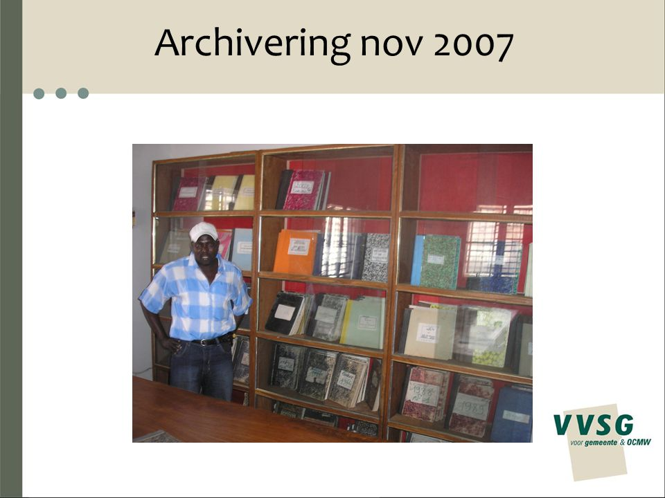 Archivering nov 2007