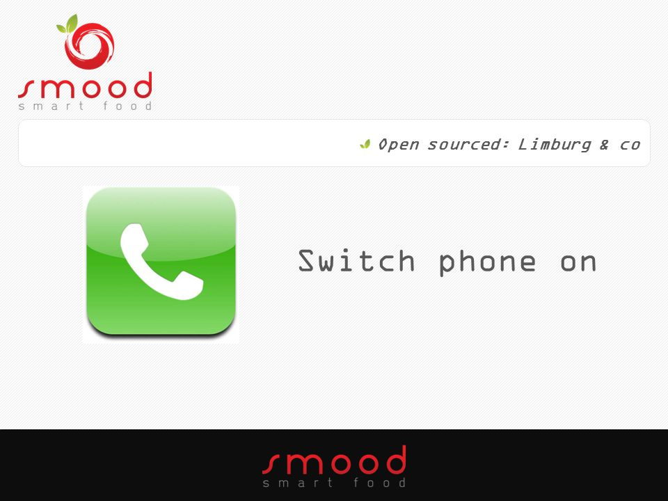 Switch phone on Open sourced: Limburg & co