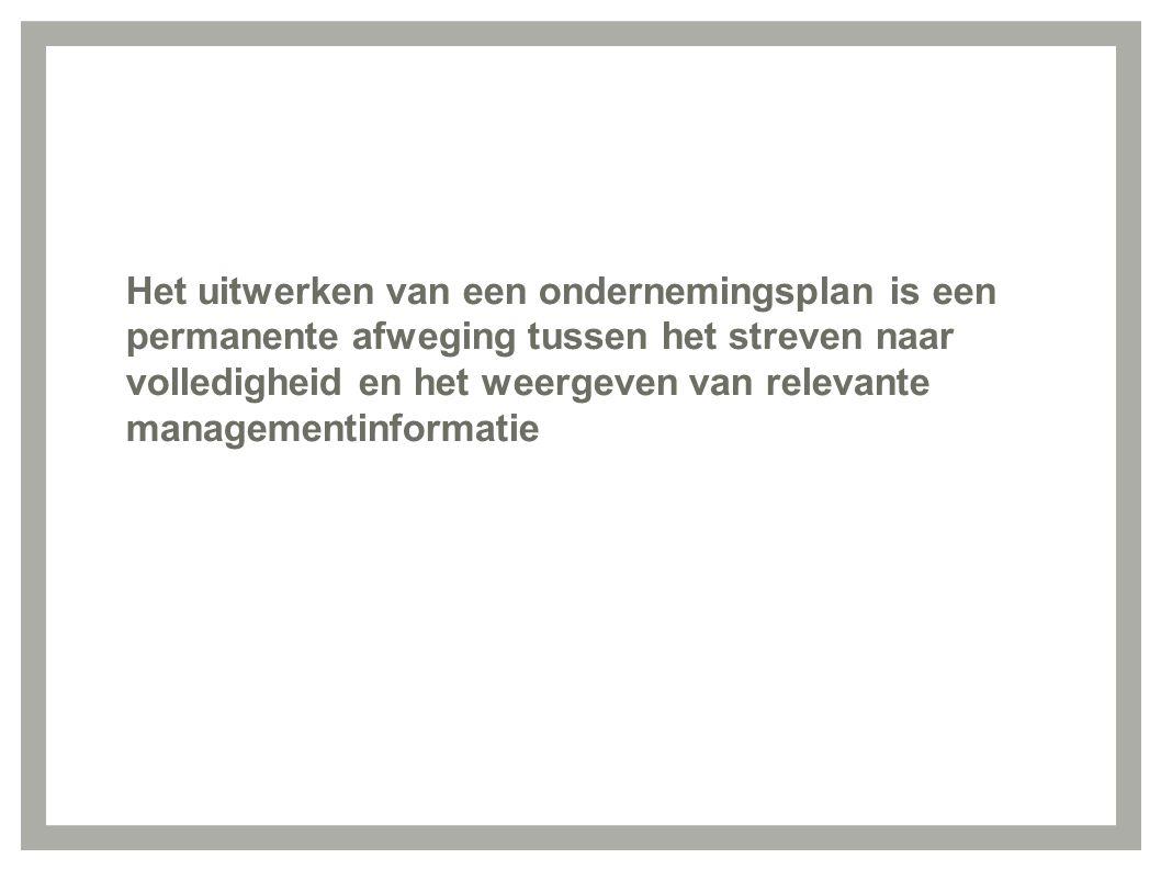 ondernemingsplan doc CAG/11/13.01/DOC.010. Van beheersovereenkomst naar  ondernemingsplan doc